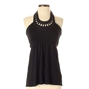 NWOT Juicy Couture Haltor Top Black
